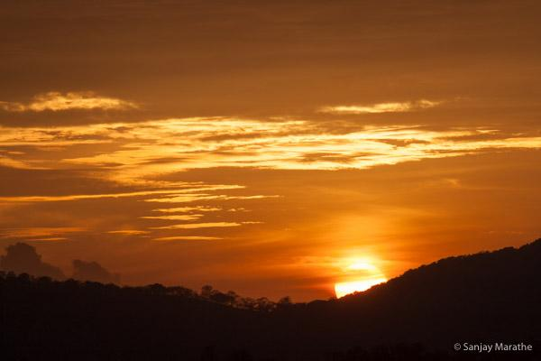 Title - 'Sunset Bliss', Fine art photography print of Landscapes series by artist Sanjay Marathe