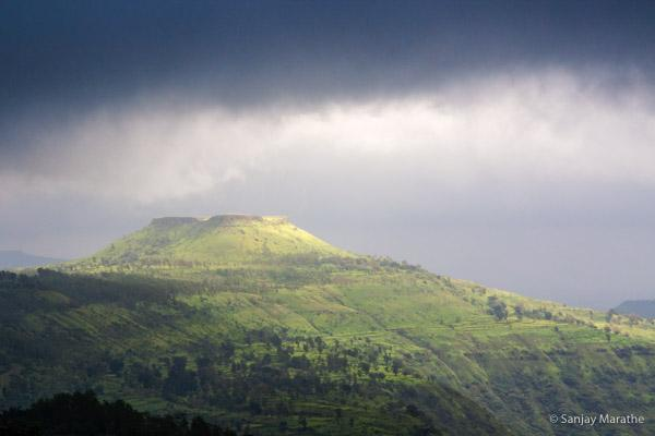 Title - 'Sun Kissed' Monsoon Landscapes limited edition art photograph by Sanjay Marathe