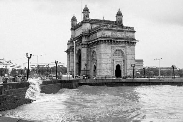 Title - 'Gateway Of India', Fine art photography print of Mumbai Cityscapes Series by artist Sanjay Marathe