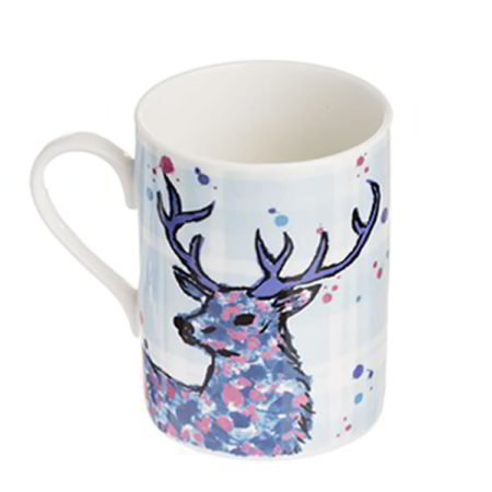 Scottish Stag Mug by Scott Inness
