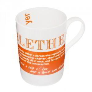 Blether China Mug, 'I could go on and on and on and...but I'm no' a blether'