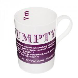Numpty China Mug, 'What a numpty, I should have gone to the Cookshop first'