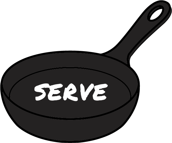 Serving items