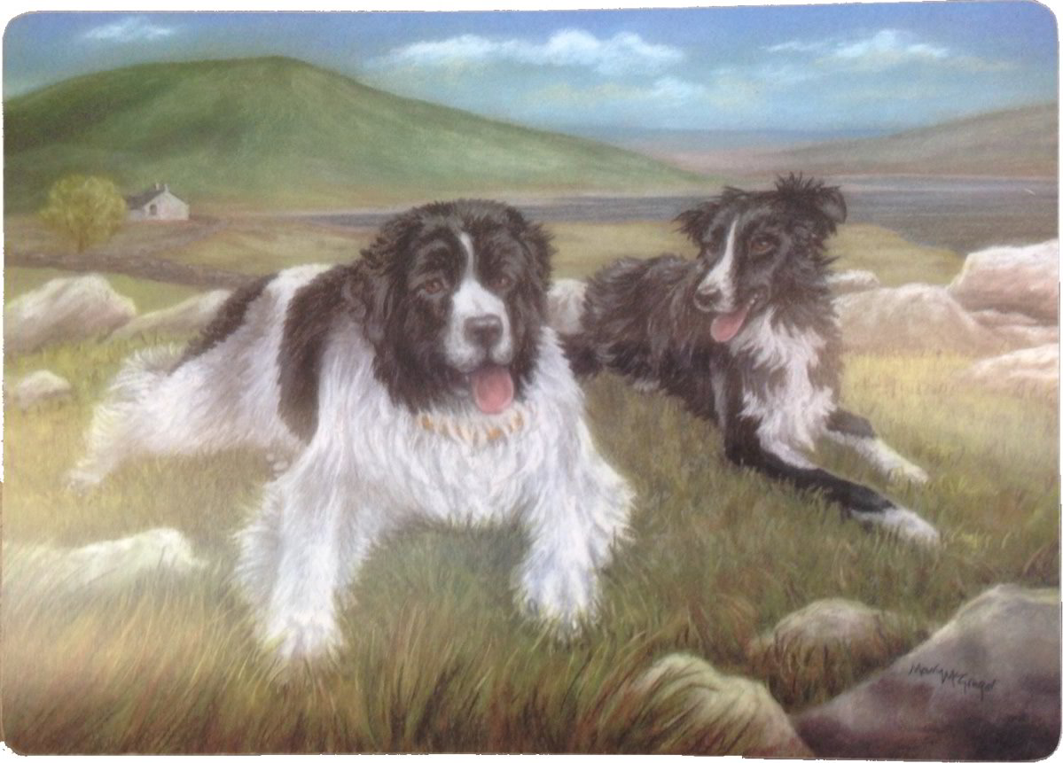Twa Dugs Tablemats by Mary McGregor