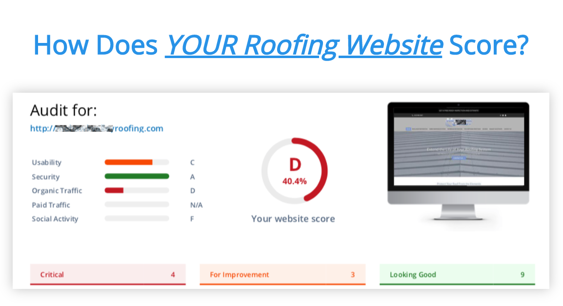 Commercial Roofing Website To Get Organic Roofing Leads