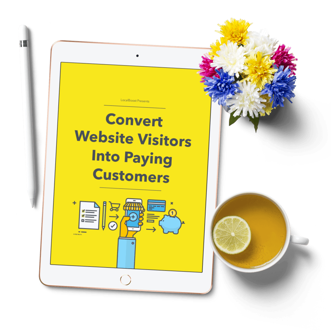 Free eBook: Convert Website Visitors Into Paying Customers