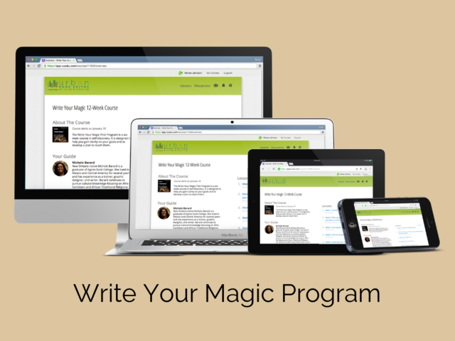 Write Your Magic 12-Week Course