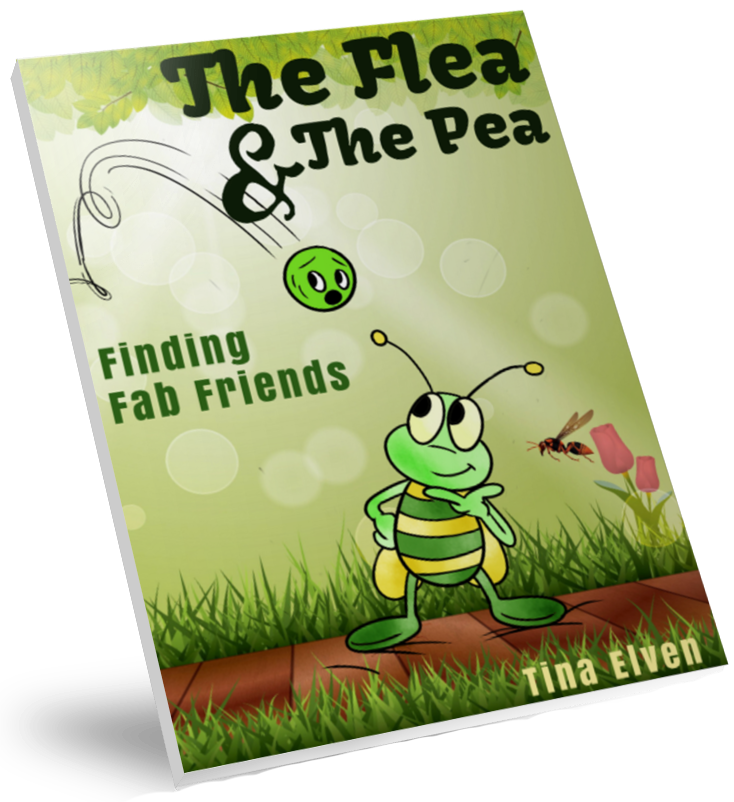 The Flea and The Pea | Finding Fab Friend | Children's Book | By Tina Elven