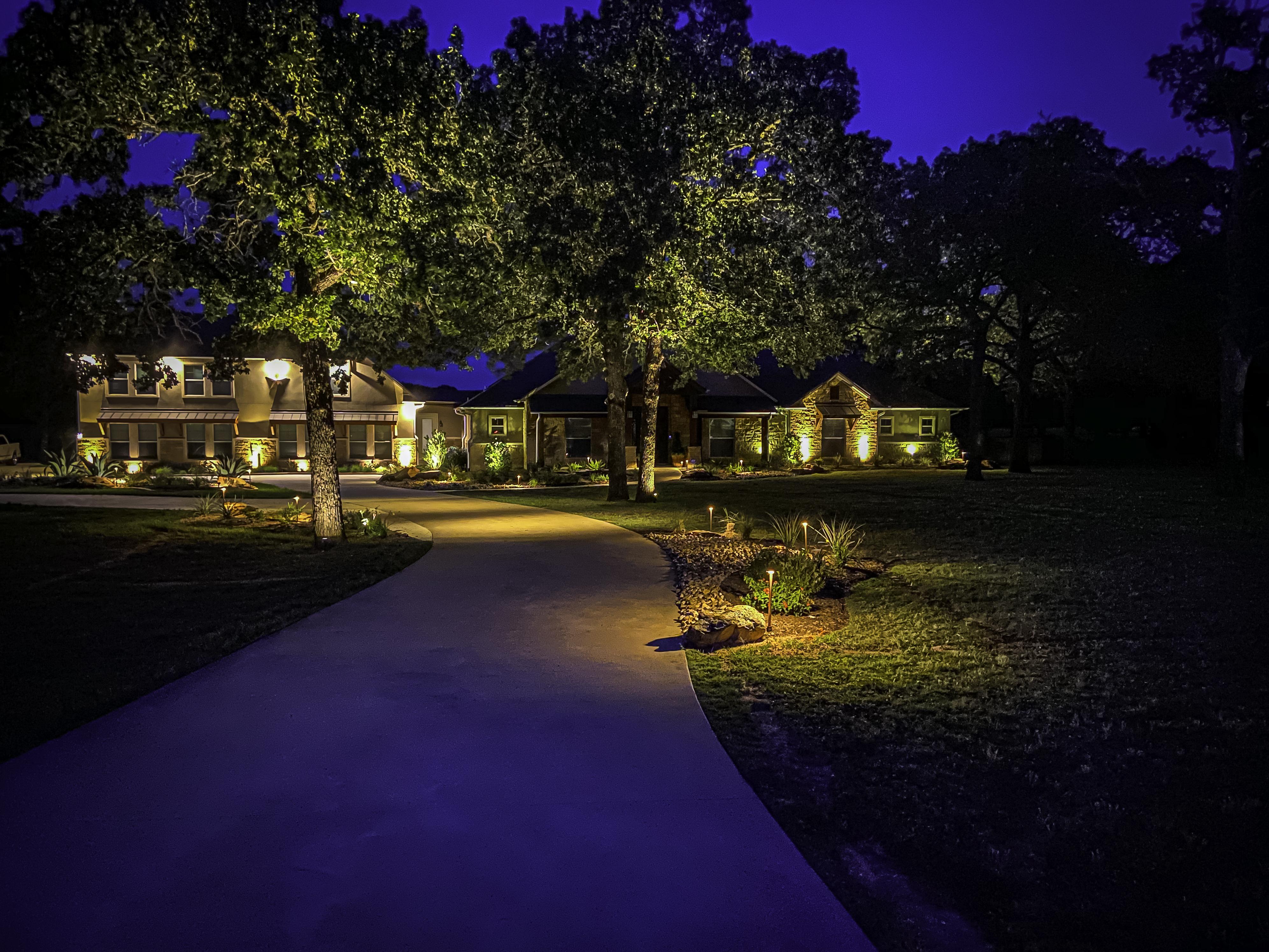 Outdoor Lighting Contractors In College Station Tx