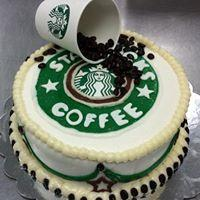 Stephen's Sweet Sensations Custom Starbucks Coffee Cake