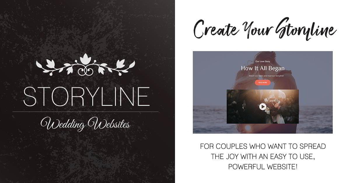 Joy Wedding Website.Storyline Wedding Websites