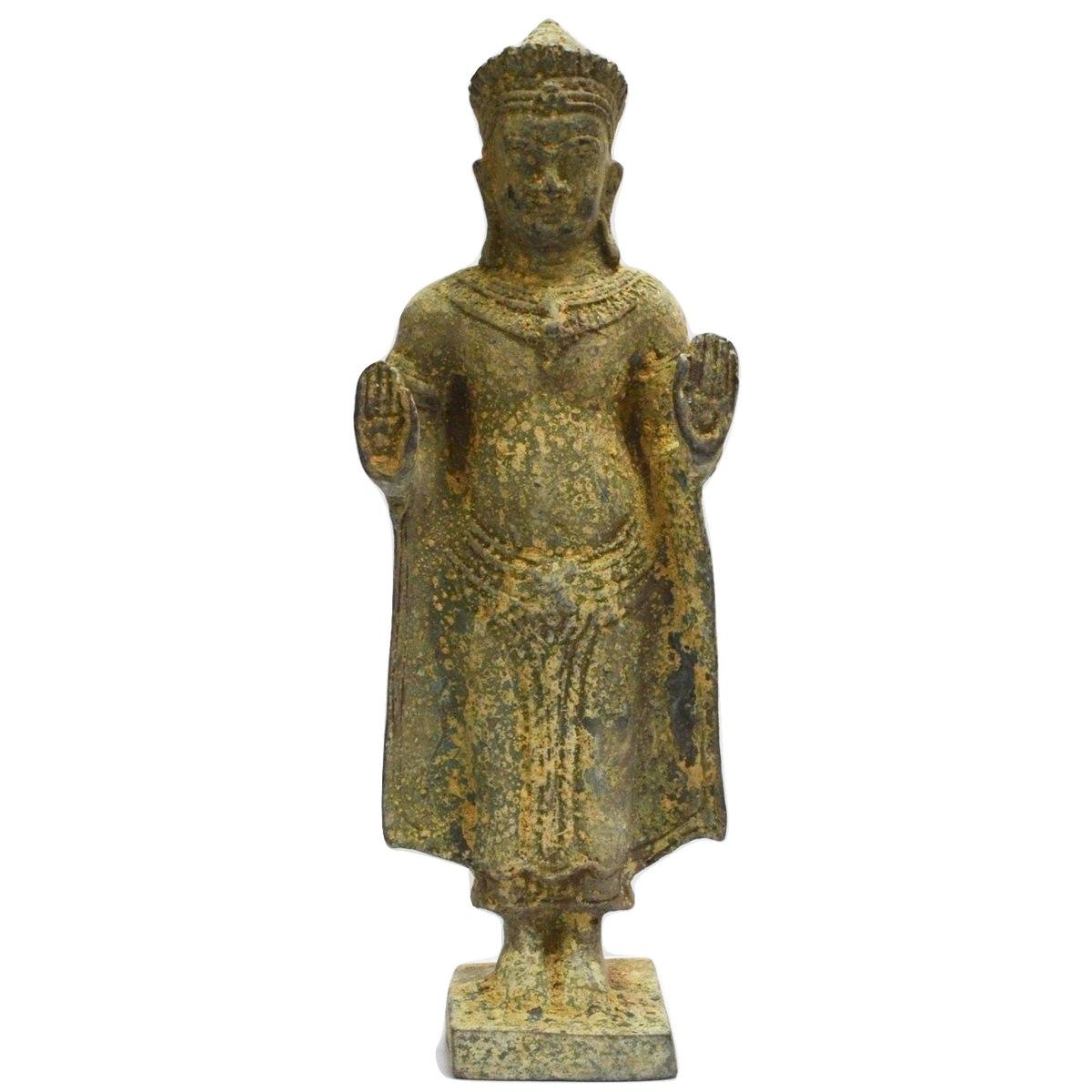 antique art asian buddha mail