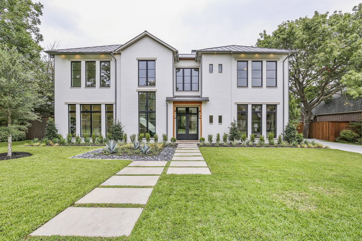 Custom Home for Sale in Preston Hollow TX