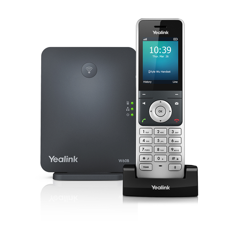 Yealink W60 DECT Base Station and W56H IP Handset