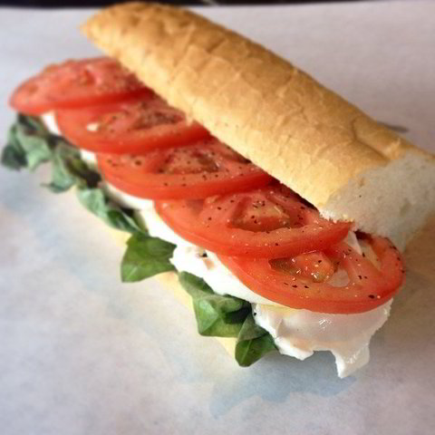 THE CAPRESE - VEGETARIAN OPTION