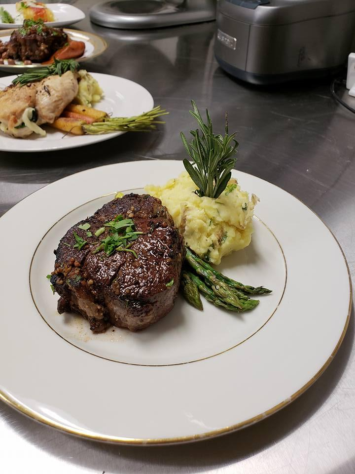 steak premium dinner options