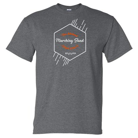 AHS Cursive Marching Band - Short Sleeve T-Shirt