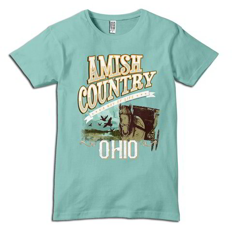 Amish Country - Ohio Horse & Buggy T-Shirt