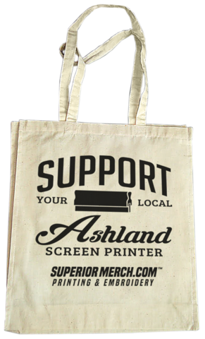 Superior Merch - Support Your Local Printer Tote Bag
