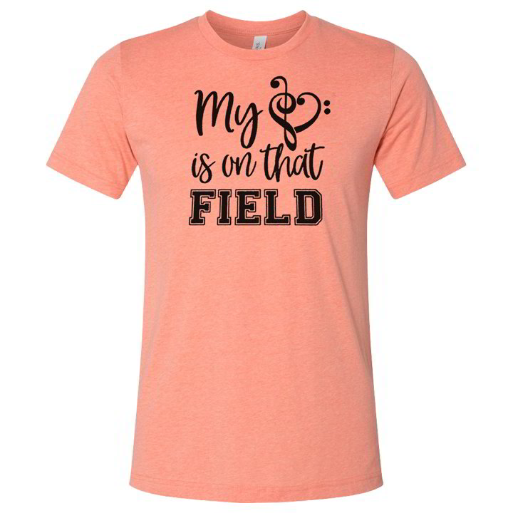 My Heart - Orange T-Shirt