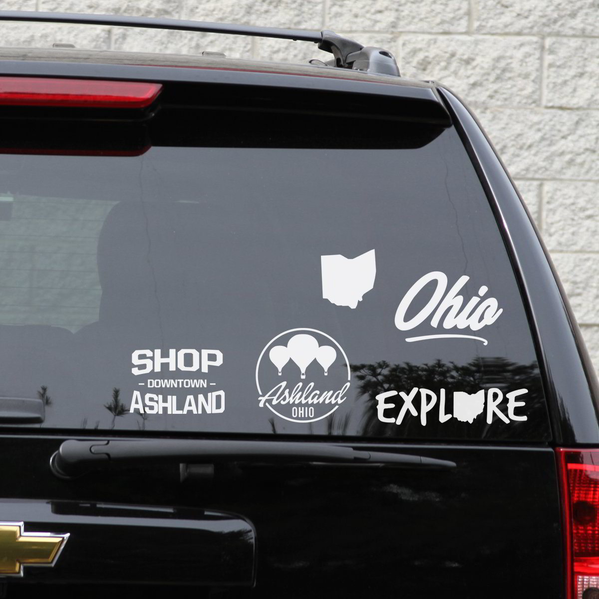Various Ohio Decals (Set #2)