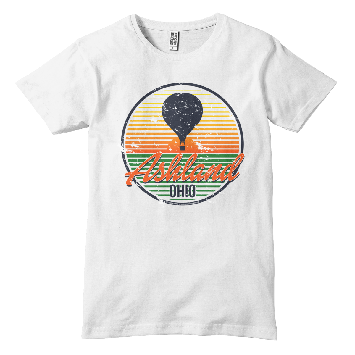 Ashland Ohio Hot Air Balloon T-Shirt