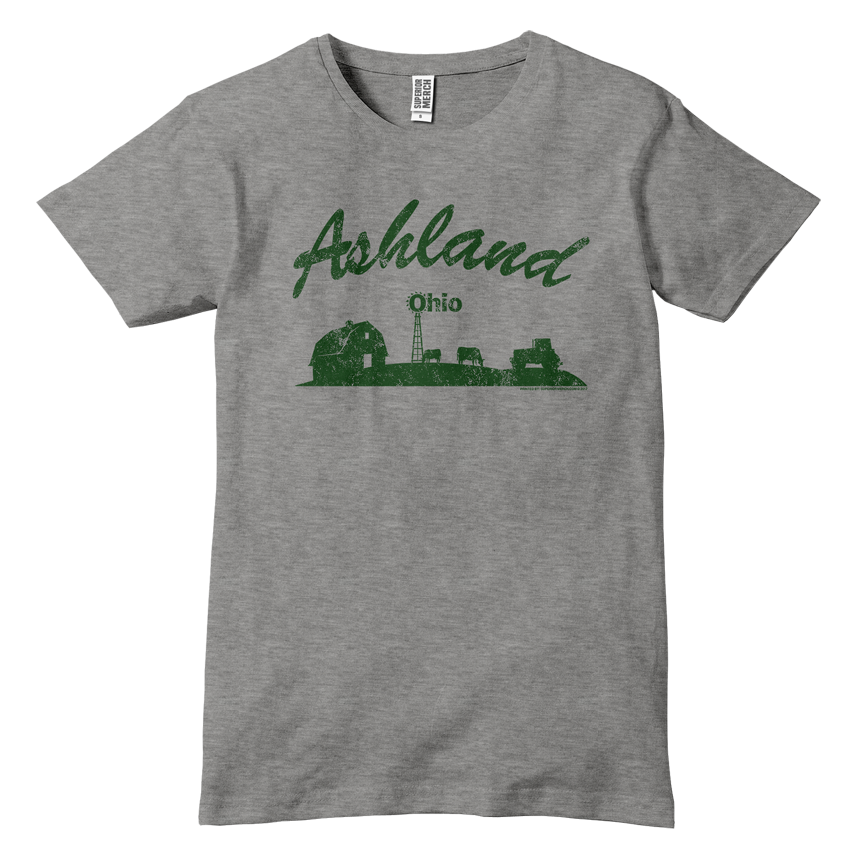 Ashland Ohio Down On The Farm T-Shirt