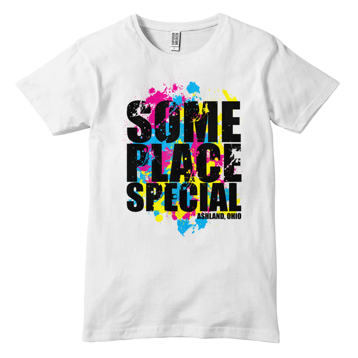 Someplace Special - Splatter T-Shirt