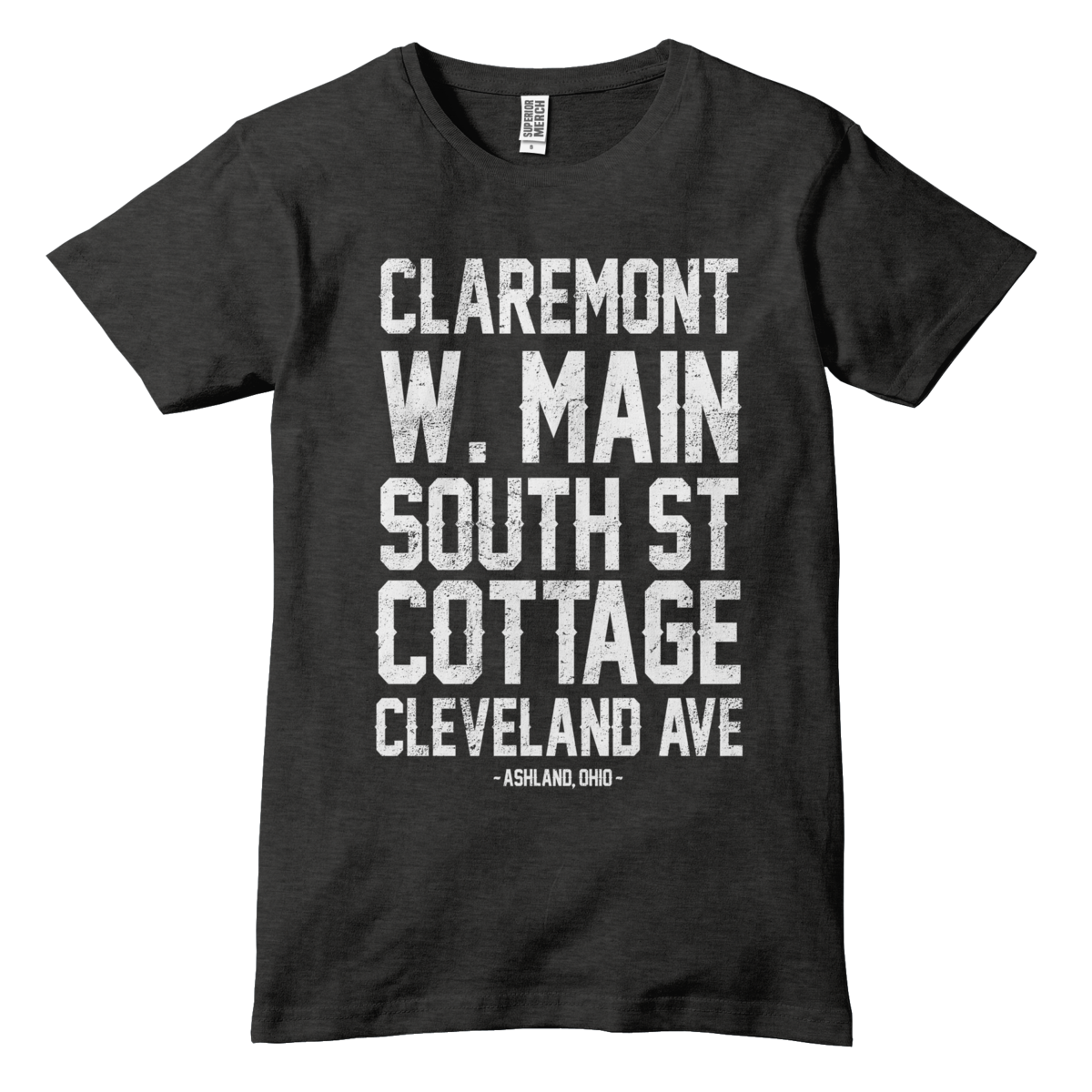Ashland Street Names T-Shirt