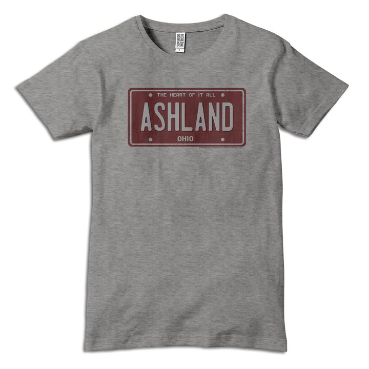 Ashland License Plate T-Shirt