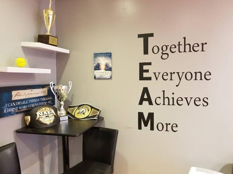 Rock City MMA is all about Team