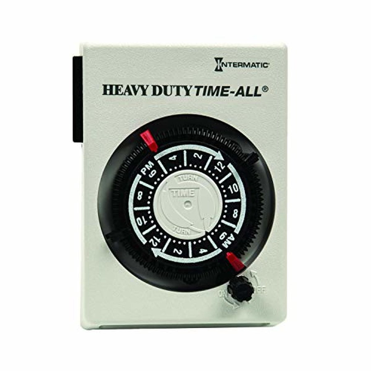 Intermatic Heavy-Duty Plug-in 240 VAC Timer