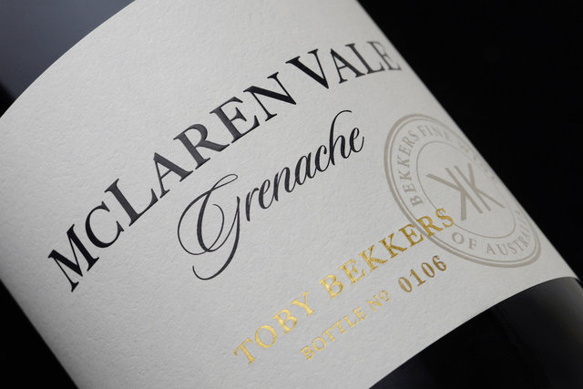 [BEKKERS 1ER PREMIER WINE CLUB] GRENACHE BEKKERS 1ER NOVEMBER DELIVERY 6 BOTTLES