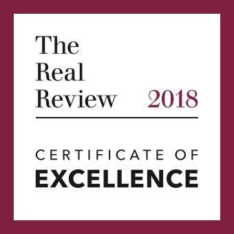The Real Review Certificate of Excellence