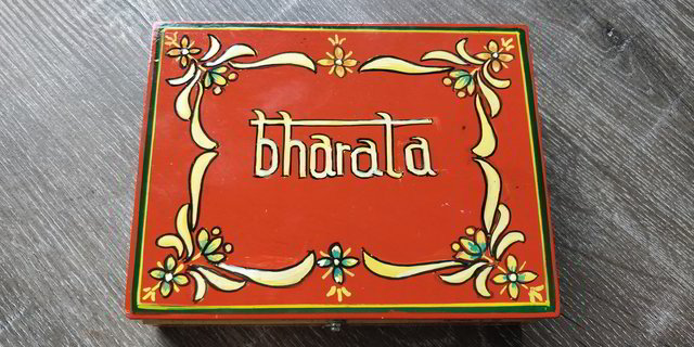 Bharata Collector's Edition box - Handpainted and lacqueured exclusive wooden box