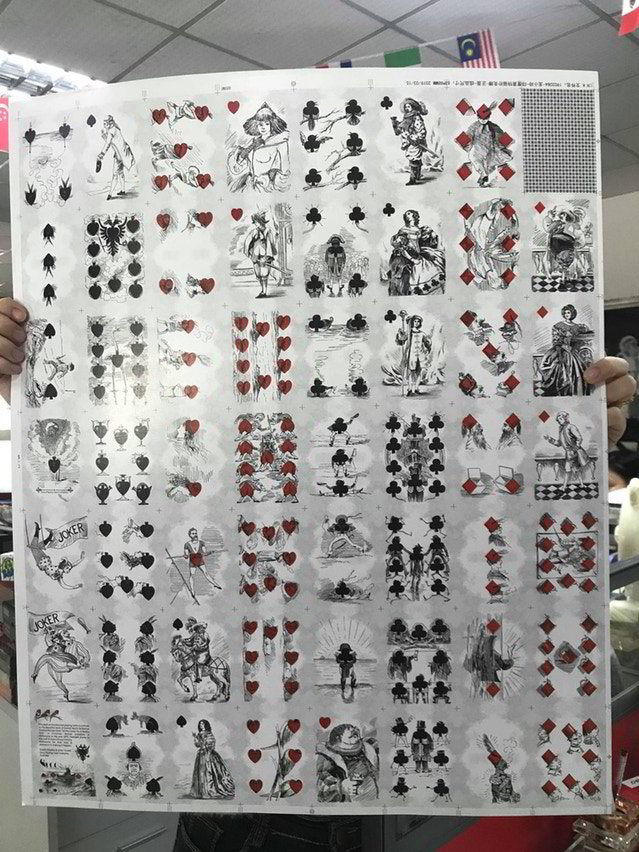 Uncut Sheet - A Motley Pack Heritage Edition (limited)