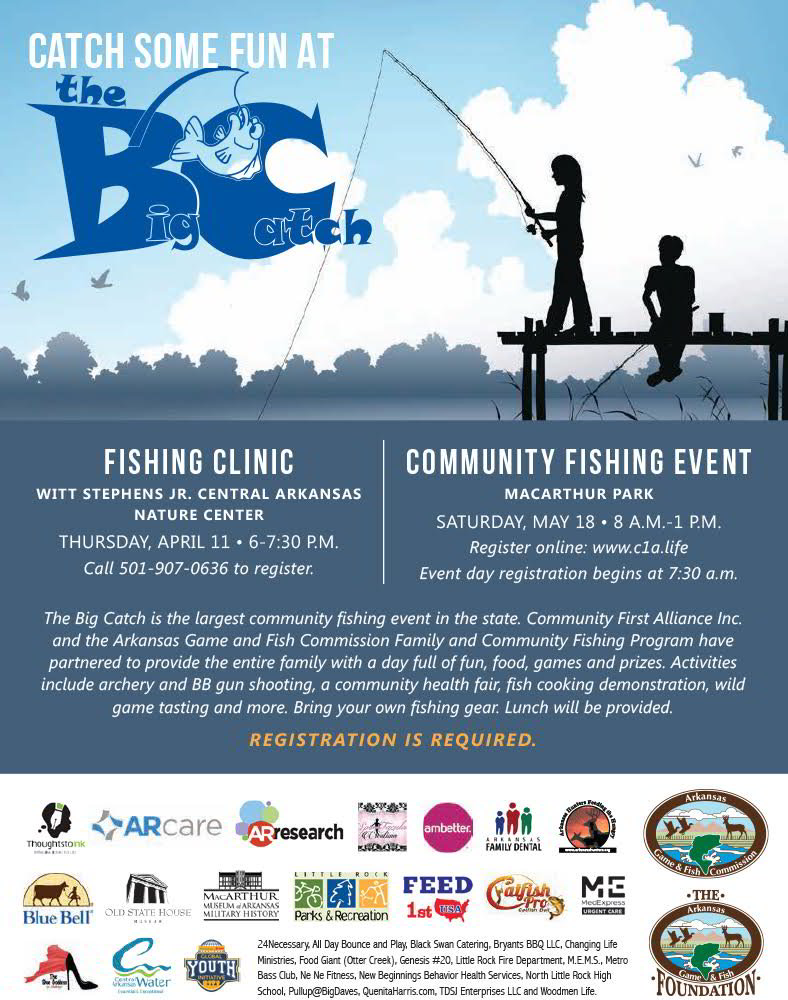 Proud sponsor of the Big Catch Fishing Event the largest