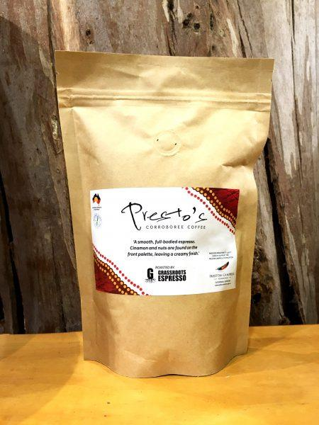 Presto's Corroboree Coffee