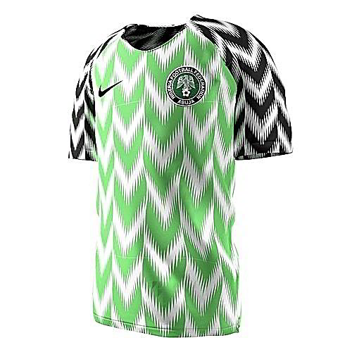 buy online 3ed11 eeaf1 Nigeria Soccer Jersey 2018-2019