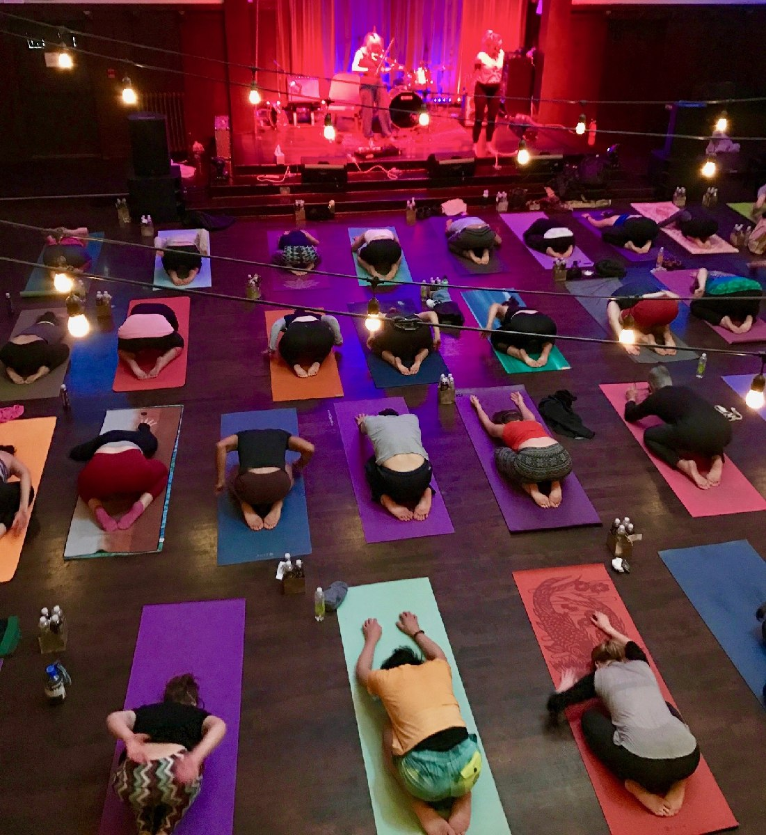 choose newest buy popular matching in colour ATHLETA x SHOWGA™ —- A Live Concert on your Mat!