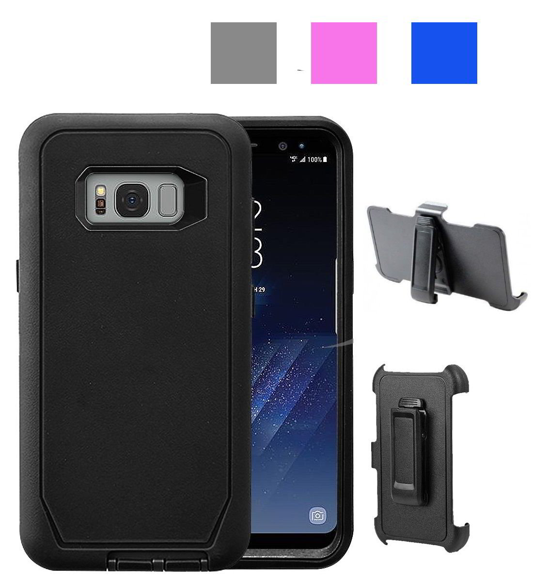 Defender Holster Case For Samsung S8 or S8 Plus