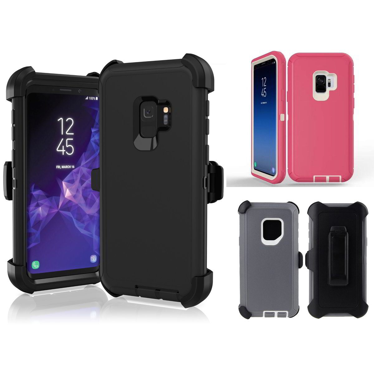 Defender Holster Case for Samsung S9 or S9 Plus