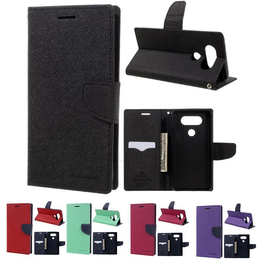 Goospery Dream Stand Bumper Case Samsung Galaxy S9 Fancy Diary Black Brown Mercury Flip Wallet Leather