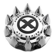 ATX Full Front Snap On Cap cover Spike Chrome
