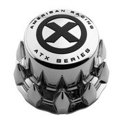 ATX Full Rear Snap On Cap Cover Spike Chrome