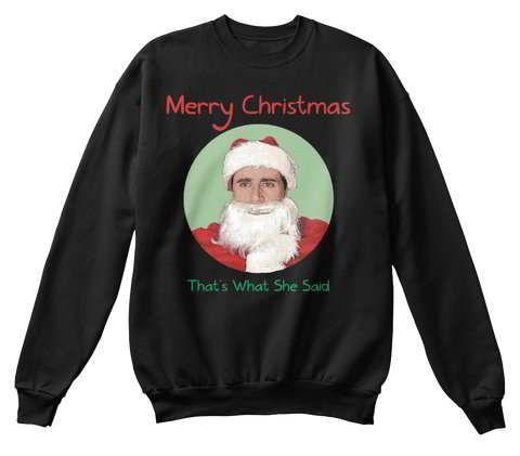 Michael Scott | Merry Christmas | The Office ugly Christmas sweater