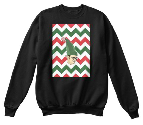 Dwight Schrute Elf | The office ugly christmas sweater