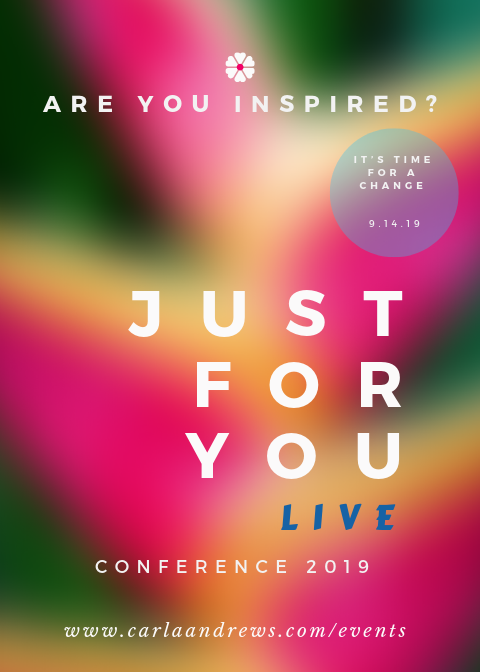 #JUST FOR YOU LIVE™ CONFERENCE 2019 - (VIP/NEXT LEVEL)