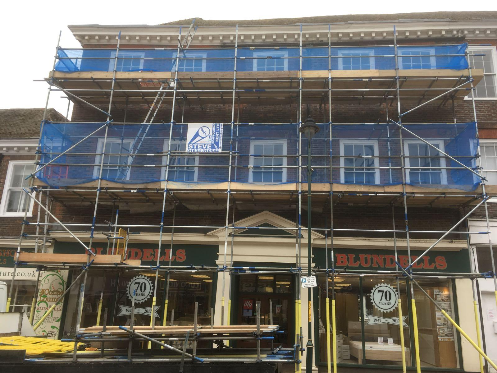 Steve Scaffolding Kent Ltd Commercial Work