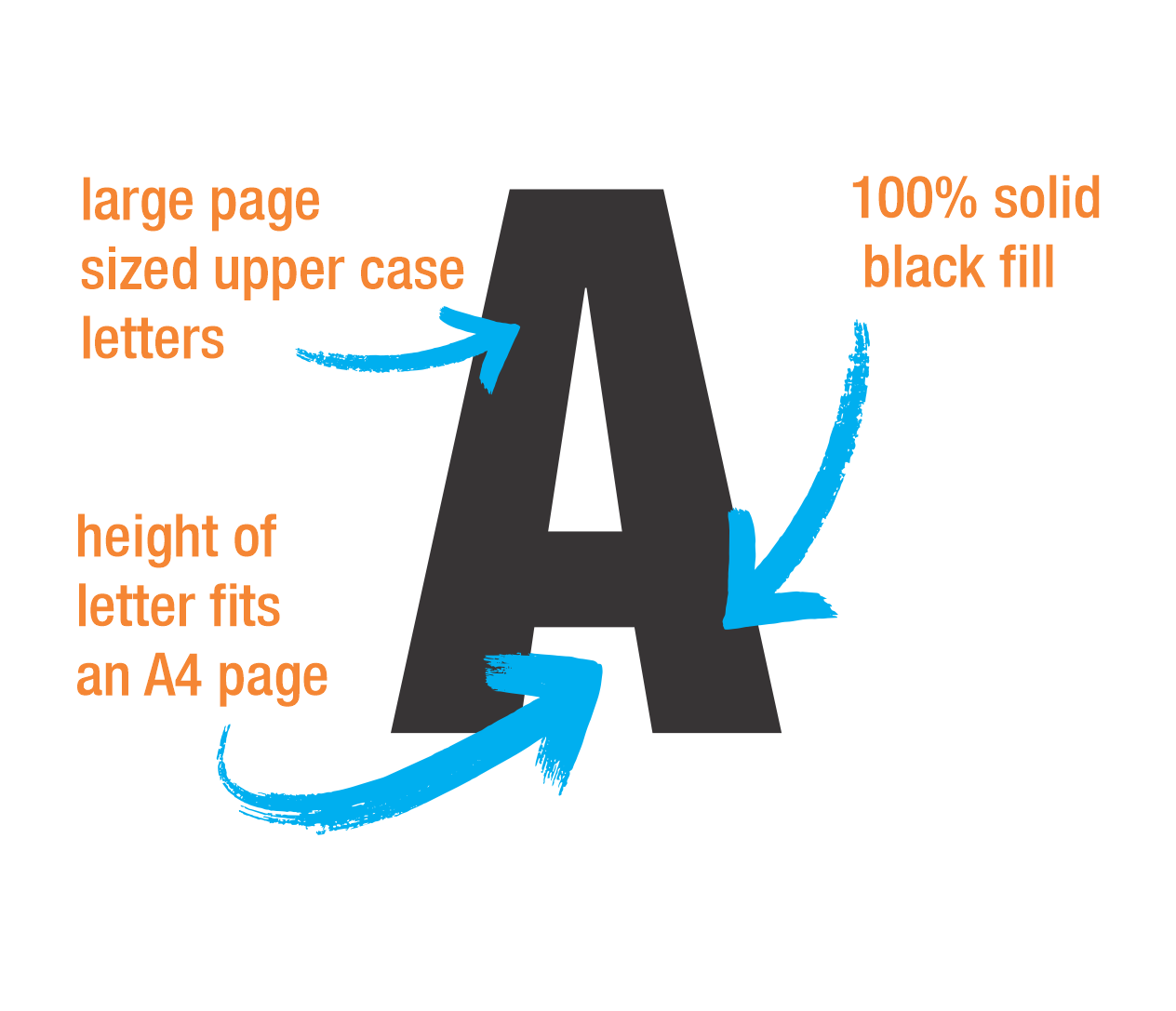 image about Printable Large Numbers known as Substantial Letters Substantial Figures Downloadable templates inside of PDF layout